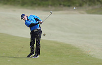 Sunday 31st May 2015; Thomas Aiken, South Africa, plays his approach to the 8th green<br /> <br /> Dubai Duty Free Irish Open Golf Championship 2015, Round 4 County Down Golf Club, Co. Down. Picture credit: John Dickson / DICKSONDIGITAL