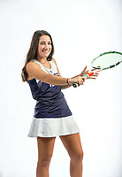 NWA Democrat-Gazette/BEN GOFF @NWABENGOFF<br /> Mary Houston of Fayetteville, girls tennis singles player of the year, poses for a photo Thursday, Nov. 29, 2018, at the Northwest Arkansas Democrat-Gazette studio in Springdale.