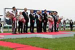 April 13,2014:Harp Star,ridden by Yuga Kawada,wins the Oka Sho(Japanese 1000 Guineas) at Hanshin in Hyogo,Japan. Kazushi Ishida/ESW/CSM