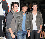 Kevin jonas, Joe jonas & Nick Jonas of The Jonas Brothers at The Newline Cinema & Warner Brothers L.A. Premiere of 17 Again held at The Grauman's Chinese Theatre in Hollywood, California on April 14,2009                                                                     Copyright 2009 RockinExposures