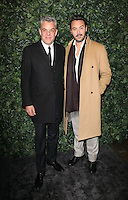 Danny and Jack Huston<br /> at the 2017 Charles Finch & CHANEL Pre-Bafta Party held at Anabels, London.<br /> <br /> <br /> ©Ash Knotek  D3227  11/02/2017