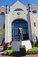 September 22, 2012:   A view of the Bobby Bobby Sculpture in front of Doak S. Campbell Stadium prior to the start of the game between the Florida State Seminoles and the  Clemson Tigers.