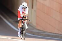 9th September 2021; Trento, Trentino–Alto Adige, Italy: 2021 UEC Road European Cycling Championships, Womens Individual time trials:  KARASIEWICZ Karolina (POL)