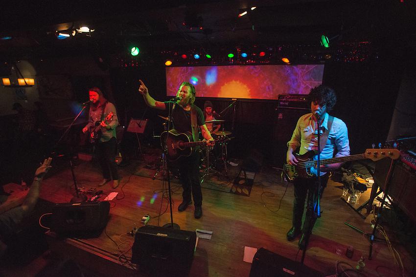 Ha Ha Tonka during their Friday night performance at Tap Root.