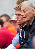France, Paris, 28.05.2014. Tennis, French Open, Roland Garros, Dutch Fed Cup captain Paul Haarhuis is watching the match of Kiki Bertens (NED)<br /> Photo:Tennisimages/Henk Koster