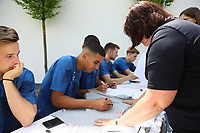 29.05.2018: Autogrammstunde U20 Nationalmannschaft