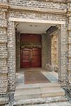 Main Entrance To The Yantai (Chefoo) Custom House.