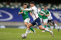 BELFAST, NORTHERN IRELAND - MARCH 28: Antonee Robinson #5 of the United States during a game between Northern Ireland and USMNT at Windsor Park on March 28, 2021 in Belfast, Northern Ireland.