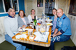 Enjoying the evening in Molly J's on Thursday, l to r: Seamus Ashe, Aine, Aisling and Rebecca Bullman and Mike Kissane.