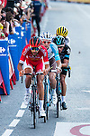 Chetout, Kennaaugh, Jauregui and Bouwman during La Vuelta a España 2016 in Madrid. September 11, Spain. 2016. (ALTERPHOTOS/BorjaB.Hojas)