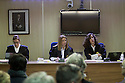 (L-R) Palma 1st secction High Court Judges Rocio Martin, Samantha Romero and Eleonor Moya