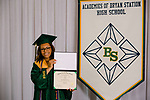 Crowders, Kamari  received their diploma at Bryan Station High school on  Thursday June 4, 2020  in Lexington, Ky. Photo by Mark Mahan Mahan Multimedia