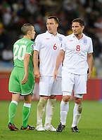 John Terry and Frank Lampard of England looks dejected