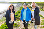 Enjoying a stroll in Fenit on Thursday, l to r: Maria Maher, Mary and Triona Bowler.