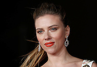 "L'attrice, cantante e modella statunitense Scarlett Johansson posa sul red carpet per la presentazione del film ""Her"" all'ottava edizione del Festival Internazionale del Film di Roma, 10 novembre 2013.<br /> U.S. actress, singer and model Scarlett Johansson poses on the red carpet to present the movie ""Her"" during the 8th edition of the international Rome Film Festival at Rome's Auditorium, 10 November 2013.<br /> UPDATE IMAGES PRESS/Isabella Bonotto"
