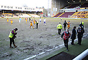27/02/2010  Copyright  Pic : James Stewart.sct_jspa11_motherwell_v_kilmarnock  .::  THE MOTHERWELL PITCH AFTER THE MATCH :: .James Stewart Photography 19 Carronlea Drive, Falkirk. FK2 8DN      Vat Reg No. 607 6932 25.Telephone      : +44 (0)1324 570291 .Mobile              : +44 (0)7721 416997.E-mail  :  jim@jspa.co.uk.If you require further information then contact Jim Stewart on any of the numbers above.........