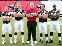 Ottawa Renegades running backs 2003: Josh Ranek; Mike Vilimek; Mike Maurer; Darren Joseph