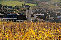 Europe/France/89/Yonne/Irancy : Le village et le vignoble