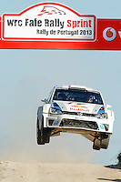 Andreas Mikkelsen (FRA) and Mikko Markkula (FRA), Volkswagen Polo R WRC of VOLKSWAGEN MOTORSPORT during WRC Fafe Rally Sprint 2013, in Fafe, Portugal on April 6, 2013(Photo Credits: Paulo Oliveira/DPI/NortePhoto)