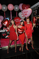 NEW YORK, NY - FEBRUARY 07: Model Taylor Hill, Sara Sampaio, Josephine Skriver attends Victoria's Secret Angels share their hottest gift picks for Valentine's Day at Victoria's Secret, Fifth Ave on February 7, 2017 in New York City.<br />