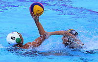 BARRANQUILLA - COLOMBIA, 26-07-2018: Colombia y Mexico durante su participación en la polo acuático femenino como parte de los Juegos Centroamericanos y del Caribe Barranquilla 2018. /  Colombia and Mexico during their participation in women's waterpolo of the Central American and Caribbean Sports Games Barranquilla 2018. Photo: VizzorImage / Alfonso Cervantes / Cont