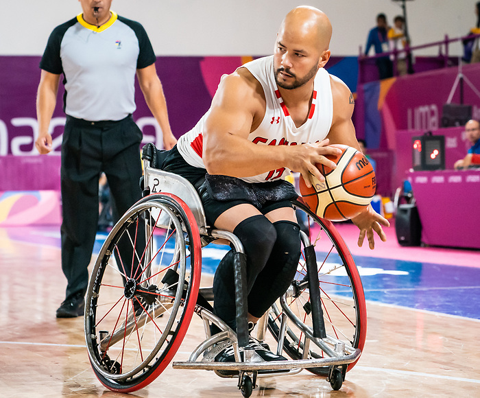 David Eng, Lima 2019 - Wheelchair Basketball // Basketball en fauteuil roulant.<br />
