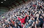 Hearts fans celebrate