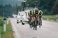 Team Mitchelton-Scott<br /> <br /> UCI WOMEN'S TEAM TIME TRIAL<br /> Ötztal to Innsbruck: 54.5 km<br /> <br /> UCI 2018 Road World Championships<br /> Innsbruck - Tirol / Austria