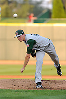Fort Wayne TinCaps pitcher Max Fried (32) during a game against the Great Lakes Loons on August 19, 2013 at Dow Diamond in Midland, Michigan.  Great Lakes defeated Fort Wayne 12-5.  (Mike Janes/Four Seam Images)