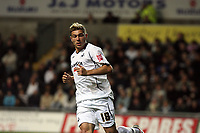 Pictured: Gorka Pintado of Swansea City in action <br /> Re: Carling Cup Round Four, Swansea City Football Club v Watford at the Liberty Stadium, Swansea, south Wales, Tuesday 11 November 2008.<br /> Picture by Dimitrios Legakis Photography (Athena Picture Agency), Swansea, 07815441513