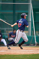 Atlanta Braves Sean Godfrey (87) during an intrasquad Spring Training game on March 29, 2016 at ESPN Wide World of Sports Complex in Orlando, Florida.  (Mike Janes/Four Seam Images)