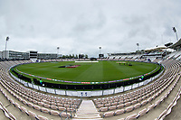 A general view of an overcast but dry Hampshire Bowl  following the washout on day 1 during India vs New Zealand, ICC World Test Championship Final Cricket at The Hampshire Bowl on 19th June 2021