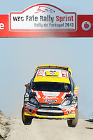Martin Prokop (CZE) and Michael Ernst (CZE), Ford Fiesta RS WRC of JIPOCAR CZECH NATIONAL TEAM during WRC Fafe Rally Sprint 2013, in Fafe, Portugal on April 6, 2013(Photo Credits: Paulo Oliveira/DPI/NortePhoto)