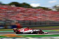 #07 Kimi Raikkonen, Alfa Romeo Racing. Italian GP, Monza 5-8 September 2019<br /> Monza 07/09/2019 GP Italia <br /> Formula 1 Championship 2019 <br /> Photo Federico Basile / Insidefoto