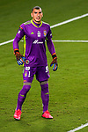 Goalkeeper Nahuel Guzman of Tigres UANL (MEX) vs New York City FC (USA) during their Scotiabank Concacaf Champions League Quarter Finals match at the Orlando's Exploria Stadium on 15 December 2020, in Florida. Photo by Victor Fraile / Power Sport Images