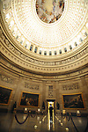 """Rotunda of US Capitol Washington DC, Rotunda,  Inside US Capitol, Rotunda of US Capitol, United States Capitol Washington D.C., United States Capital and legislature, Federal government of the United States of America Washington D.C., National Mall, Capitol Hill, Capitol, Capital, quadrants of the District, East and West side of the Capitol 'fronts,"""" East side of Capitol side to arrive for visitors, American Neoclassicism, Architect William Thornton, United States Constitution ratification 1789, L'Enfant, surrounding area of Washington DC, US Capitol, Capitol, United States Congress, Washington, D.C. fine art photography by Ron Bennett (c). Copyright,  Washington DC, District, DC, capital, Potomac River, Washington Metropolitan, metropolitan area, federal district, federal government of USA, US Congress, White House, National Mall, Politics in the United States, Presidential, Federal Republic, united States Congress, powers, Judicial Power, House of Representatives, US Senate, Constitution, federal law, Democratic Party, Republican party, two party system, Fine Art Photography by Ron Bennett, Fine Art, Fine Art photo, Art Photography, Bennett Photography, Bennett, award winning photography,"""