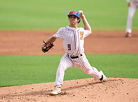 Episcopal School of Jacksonville Eagles pitcher Dillon Haines (9) during the 42nd Annual FACA All-Star Baseball Classic on June 6, 2021 at Joker Marchant Stadium in Lakeland, Florida.  (Mike Janes/Four Seam Images)