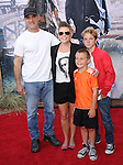 Natalie Maines , Adrian Pasdar and their kids at The Disney World Premiere of The Lone Ranger held at at Disney California Adventure in Anaheim, California on June 22,2021                                                                   Copyright 2013 Hollywood Press Agency