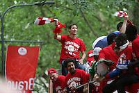 Football : le LOSC fete son titre de Champion dans Lille - Ligue 1 - 22.05.2011 - Rudi Garcia (Entraineur Lille)