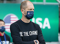 BELFAST, NORTHERN IRELAND - MARCH 28: USMNT head coach Gregg Berhalter during a game between Northern Ireland and USMNT at Windsor Park on March 28, 2021 in Belfast, Northern Ireland.