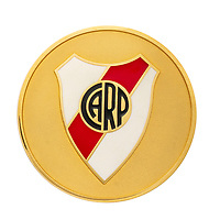 BNPS.co.uk (01202 558833)<br /> Pic: Julien'sAuctions/BNPS<br /> <br /> Pictured: Alfredo Di Stefano 1999 River Plate Birthday Dedication Gold Coin.<br /> <br /> An epic collection of medals, trophies, shirts and personal items relating to footballing legend Alfredo Di Stefano is being sold by his family for over £1m.<br /> <br /> Many of the awards won by the great goalscorer have, until recently, been on display at the Real Madrid Museum, the club where he played for most of his career.<br /> <br /> The Argentine-born striker is regarded as one of the best players of all-time and is often compared to Cristiano Ronaldo.<br /> <br /> During Di Stafano's time with Real Madrid in the 1950s and '60s, the Spanish giants dominated European football, largely due to his goals and assists.