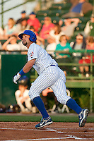 April 7th 2010: Brett Jackson of the Daytona Cubs, Florida State League High-A affiliate of the Chicago Cubs in the game against Embry-Riddle Aeronautical University at Jackie Robinson Ballpark in Daytona Beach, FL (Photo By Scott Jontes/Four Seam Images)