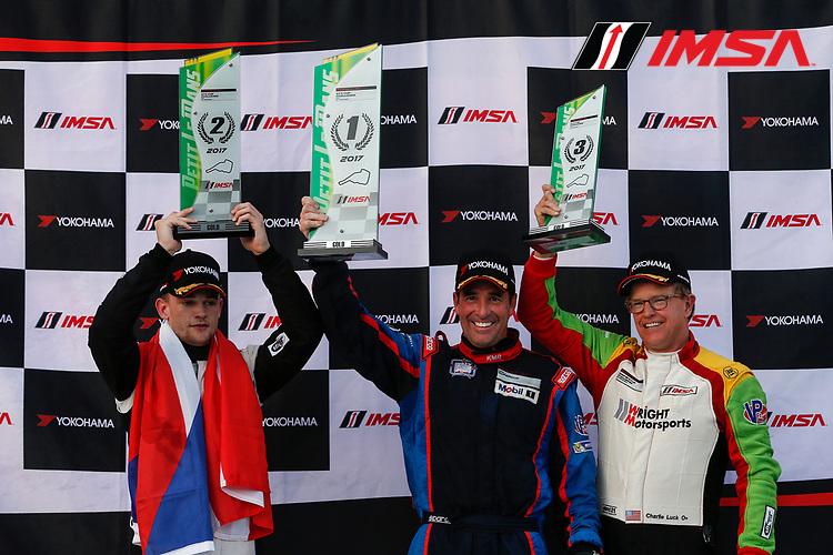 IMSA Porsche GT3 Cup Challenge USA<br /> Road Atlanta<br /> Road Atlanta, Braselton GA<br /> Thursday 5 October 2017<br /> IMSA Porsche GT3 Cup Challenge USA, Race 1, Gold Podium<br /> World Copyright: Jake Galstad<br /> LAT Images