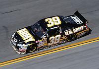Feb 07, 2009; Daytona Beach, FL, USA; NASCAR Sprint Cup Series driver Ryan Newman during practice for the Daytona 500 at Daytona International Speedway. Mandatory Credit: Mark J. Rebilas-