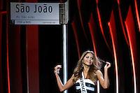 SAO PAULO, SP. 16.05.2015 - MISS-SÃO PAULO -  A segunda colocada, a miss Vinhedo, Gabriele Barbosa   durante a 61º edição do concurso Miss São Paulo, na noite deste sábado (16), no Anhembi, na zona norte da capital paulista.  (Foto: Adriana Spaca/Brazil Photo Press)