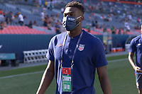 DENVER, CO - JUNE 3: Daryl Dike of the United States during a game between Honduras and USMNT at EMPOWER FIELD AT MILE HIGH on June 3, 2021 in Denver, Colorado.
