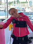 Natasha Lambert sailed across Atlantic using only her mouth
