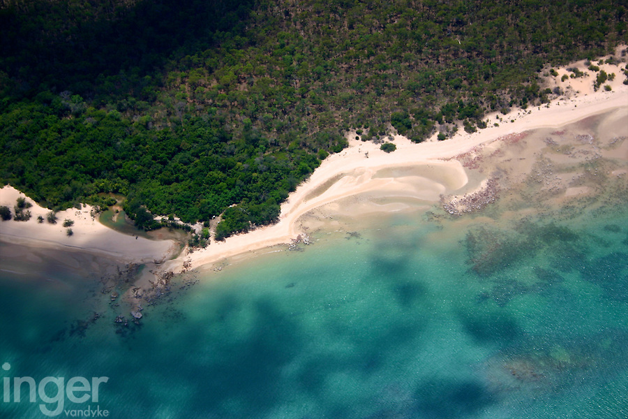 Aerial View of the Coastline, Gulf Of Carpentaria