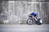 Audrey Cordon (FRA/Trek-Segafredo)<br /> <br /> Women Elite Time trial from Imola to Imola (31.7km)<br /> <br /> 87th UCI Road World Championships 2020 - ITT (WC)<br /> <br /> ©kramon