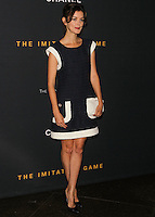LOS ANGELES, CA, USA - NOVEMBER 10: Nora Zehetner arrives at the Los Angeles Screening Of The Weinstein Company's 'The Imitation Game' held at the Directors Guild of America Theatre on November 10, 2014 in Los Angeles, California, United States. (Photo by Celebrity Monitor)